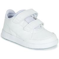 kengät Lapset Matalavartiset tennarit adidas Performance ALTASPORT CF I White