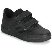kengät Lapset Matalavartiset tennarit adidas Performance ALTASPORT CF K Black