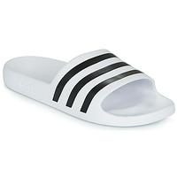 kengät Rantasandaalit adidas Performance ADILETTE AQUA White