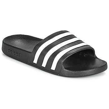 kengät Rantasandaalit adidas Performance ADILETTE AQUA Black / White