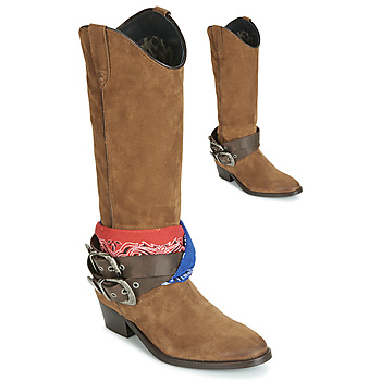 kengät Naiset Saappaat Replay FRUITLAND Camel