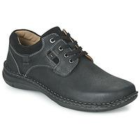 kengät Miehet Derby-kengät Josef Seibel ANVERS 36 Black
