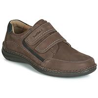 kengät Miehet Derby-kengät Josef Seibel ANVERS 90 Brown