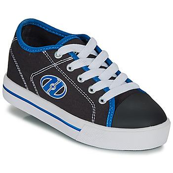 kengät Pojat Rullakengät Heelys CLASSIC X2 Black / White / Blue