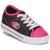 kengät Tytöt Rullakengät Heelys CLASSIC X2 Musta / Vaaleanpunainen