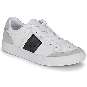 kengät Miehet Matalavartiset tennarit Lacoste COURTLINE 319 1 US White / Black