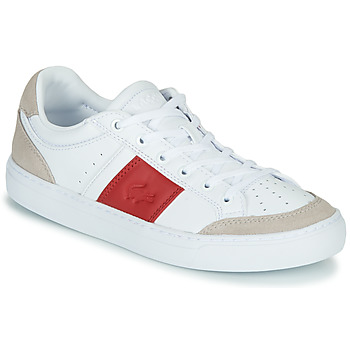 kengät Naiset Matalavartiset tennarit Lacoste COURTLINE 319 1 US CFA White / Red