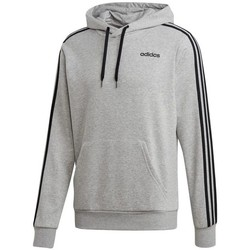 vaatteet Miehet Svetari adidas Originals Essentials 3 Stripes PO FZ French Terry Harmaat