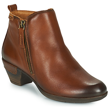 kengät Naiset Nilkkurit Pikolinos ROTTERDAM 902 Cognac