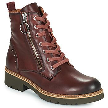 kengät Naiset Bootsit Pikolinos VICAR W0V Brown