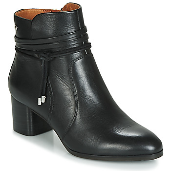 kengät Naiset Nilkkurit Pikolinos CALAFAT W1Z Black