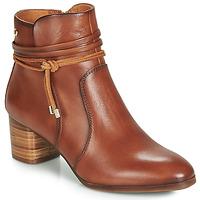 kengät Naiset Nilkkurit Pikolinos CALAFAT W1Z Brown