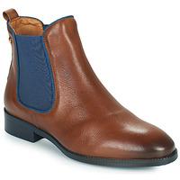 kengät Naiset Bootsit Pikolinos ROYAL W4D Brown
