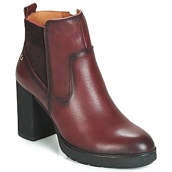 kengät Naiset Nilkkurit Pikolinos SAGUNTO W4Z Brown