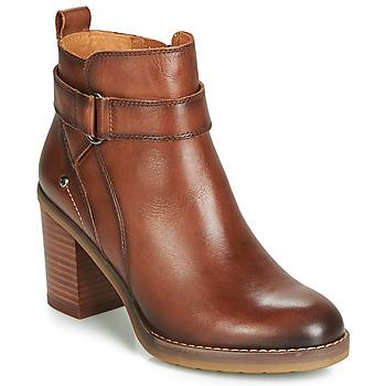 kengät Naiset Nilkkurit Pikolinos POMPEYA W9T Brown