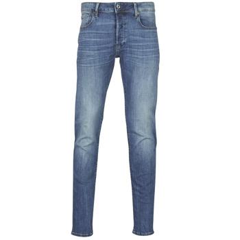 vaatteet Miehet Slim-farkut G-Star Raw 3301 SLIM Blue
