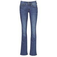 vaatteet Naiset Bootcut-farkut G-Star Raw MIDGE MID BOOTCUT WMN Blue / Sininen