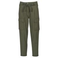 vaatteet Naiset 5-taskuiset housut G-Star Raw CHISEL BF PANT WMN Kaki