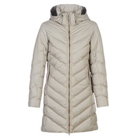 vaatteet Naiset Toppatakki G-Star Raw WHISTLER SLIM DOWN HDD LONG COAT WMN Beige