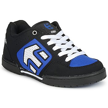 kengät Pojat Matalavartiset tennarit Etnies KIDS CHARTER Black / White / Blue