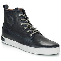 kengät Miehet Korkeavartiset tennarit Blackstone AM02 Laivastonsininen