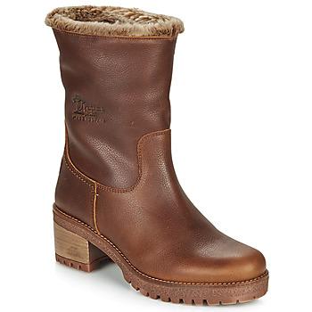kengät Naiset Nilkkurit Panama Jack PIOLA Brown