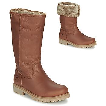 kengät Naiset Saappaat Panama Jack BAMBINA Brown