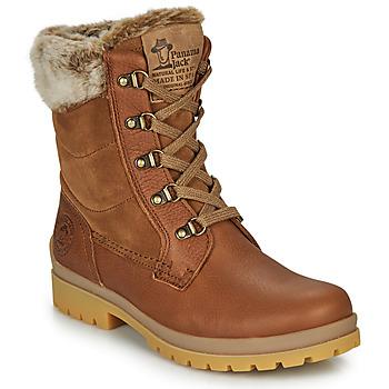 kengät Naiset Bootsit Panama Jack TUSCANI Ruskea