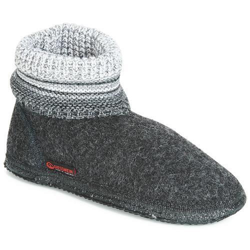 kengät Naiset Tossut Giesswein BAUMKIRCHEN Anthracite