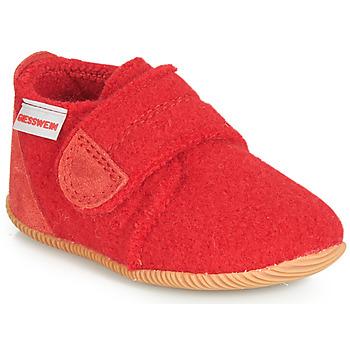 kengät Lapset Tossut Giesswein OBERSTAUFFEN Red