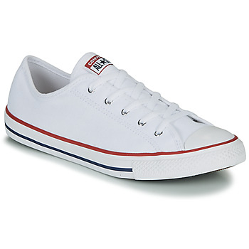 kengät Naiset Matalavartiset tennarit Converse CHUCK TAYLOR ALL STAR DAINTY GS  CANVAS OX White