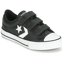 kengät Lapset Matalavartiset tennarit Converse STAR PLAYER EV 3V  LEATHER OX Black