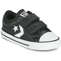 kengät Lapset Matalavartiset tennarit Converse STAR PLAYER EV 2V  LEATHER OX Black