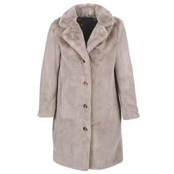 vaatteet Naiset Paksu takki Oakwood CYBER Pimeä / Beige