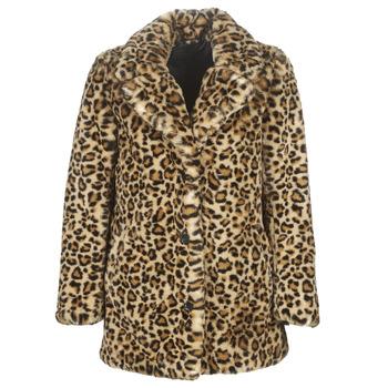 vaatteet Naiset Paksu takki Oakwood USER Leopardi