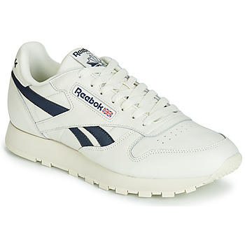 kengät Matalavartiset tennarit Reebok Classic CL LEATHER MU White / Black