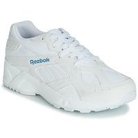 kengät Naiset Matalavartiset tennarit Reebok Classic AZTREK White / Blue