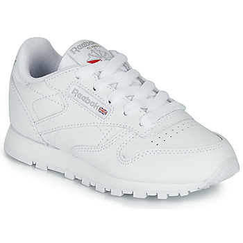 kengät Lapset Matalavartiset tennarit Reebok Classic CLASSIC LEATHER C White