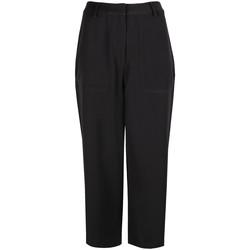 vaatteet Naiset Väljät housut / Haaremihousut Calvin Klein Jeans  Musta