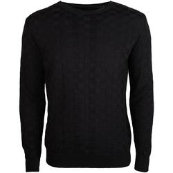 vaatteet Miehet Neulepusero Xagon Man  Musta