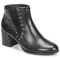 kengät Naiset Nilkkurit Tamaris LOUZI Black