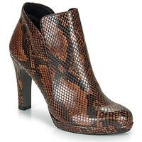 kengät Naiset Nilkkurit Tamaris LYCORIS Brown / Python