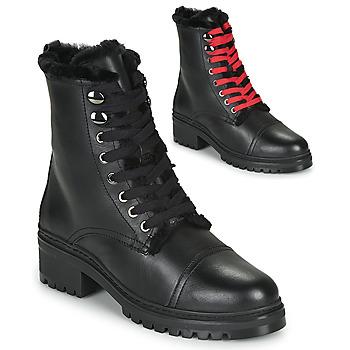 kengät Naiset Bootsit Unisa IRACHE Musta
