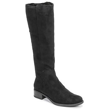 kengät Naiset Saappaat Unisa ELIZA Musta