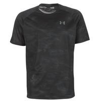 vaatteet Miehet Lyhythihainen t-paita Under Armour TECH 2.0 SS PRINTED Black