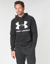 vaatteet Miehet Svetari Under Armour RIVAL FLEECE SPORTSTYLE LOGO HOODIE Black