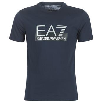 vaatteet Miehet Lyhythihainen t-paita Emporio Armani EA7 GPT81-PJM9Z-1554 Laivastonsininen