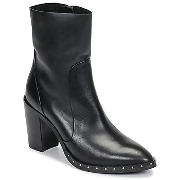 kengät Naiset Nilkkurit Jonak DIBUNA Musta
