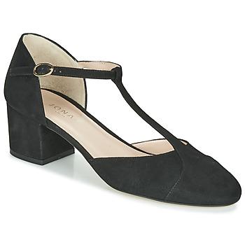 kengät Naiset Korkokengät Jonak VALONGO Black
