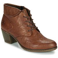 kengät Naiset Nilkkurit Rieker Y2131-24 Brown